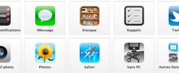 iOS 5 disponible : 200 nouveautés annoncées par Apple