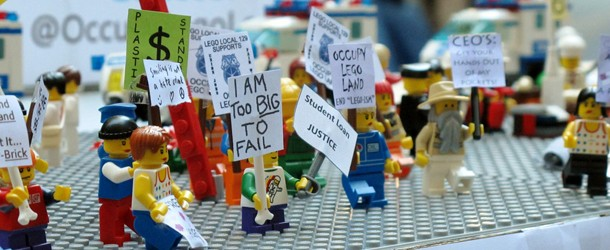 Actualité 2011 en Lego par The Guardian