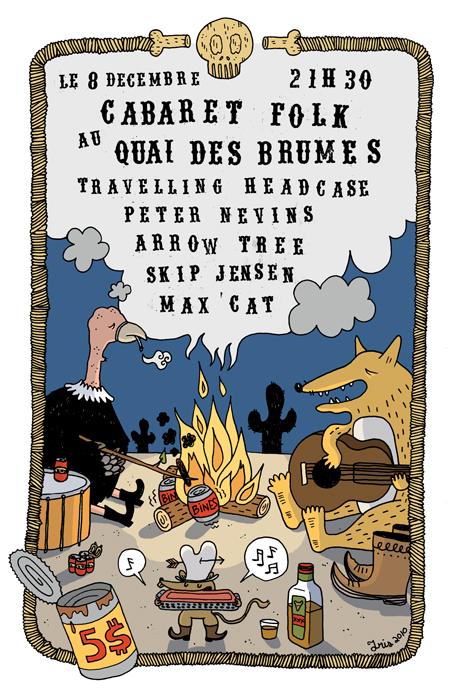 Cabaret-Folk-Quai-des-Brumes-Affiche-Iris-Geekorner-1