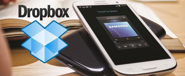 Dropbox offre 50 GB pour le Galaxy S3