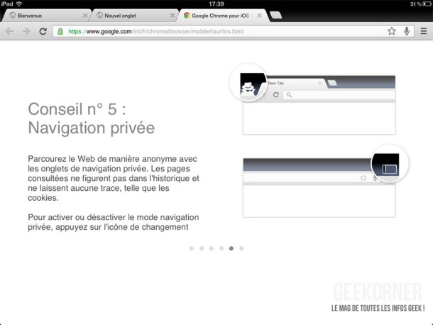 Google Chrome iPad13