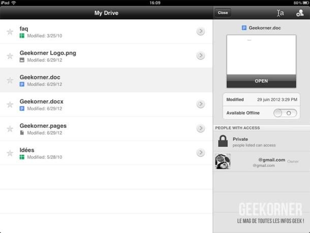 Google Drive iPad - 01
