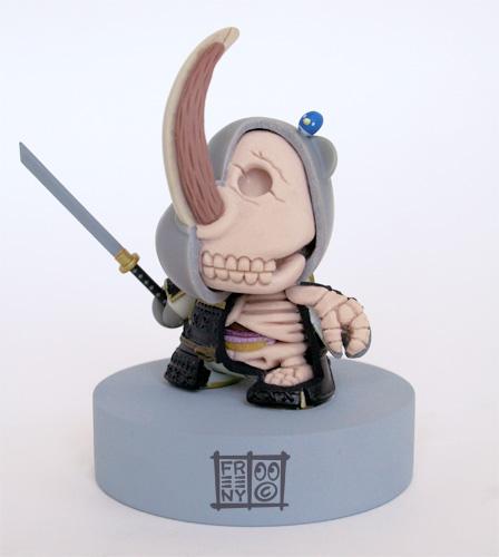 Huck-Gee-Rhino-Samurai-Anatomie-Jason-Freeny-Sculpture-Geekorner