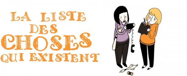 Blog BD : La Liste des Choses qui Existent