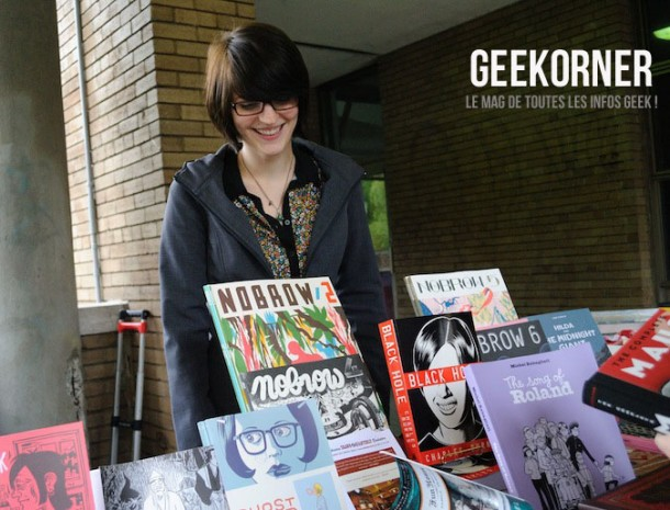 Librairie-Drawn-and-Quarterly-Marie-Jade-Menni-Julien-Ceccaldi-FBDM-2012-Geekorner-2