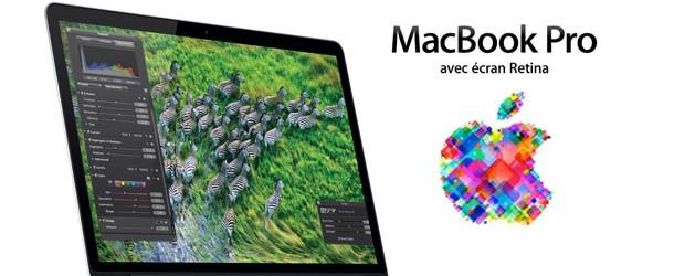 Apple lance de nouveaux MacBook au WWDC 2012