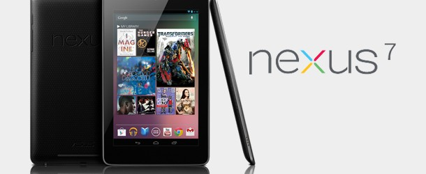 Nexus 7 : Google dévoile sa tablette à 209 $