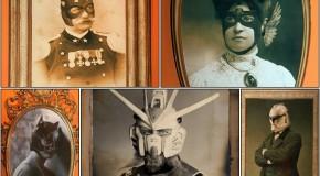 Super-héros : leurs Albums de Famille Vintage
