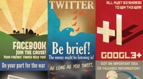 Affiches de propagande Geek par Aaron Wood