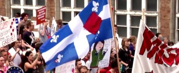 Anonymous Québec réagit à l'Encadrement Policier