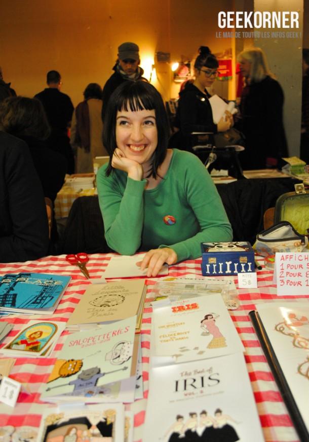 Reportage-Expozine-2011-Geekorner-Iris-Boudreau