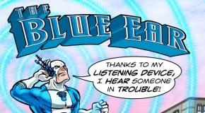 Marvel crée The Blue Ear pour Aider un Enfant Sourd