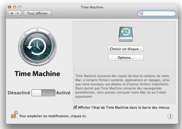 time machine osx