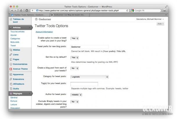 Twitter-Tools-Configuration-Geekorner