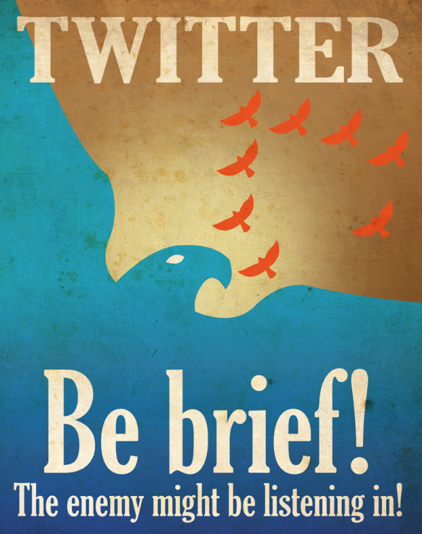 Twitter-propaganda-poster-be-brief-aaron-wood-geekorner