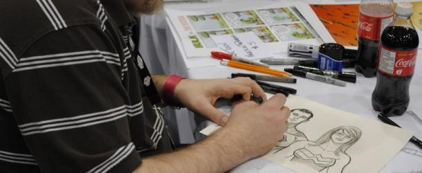Ty Templeton au Comiccon de Montréal 2011