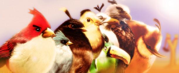 Angry Birds en vrai : Peintures Réalistes