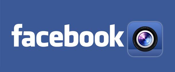 Facebook lance Camera, son application photo iPhone