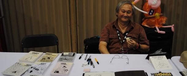 Stan Sakai et Usagi Yojimbo au Comiccon de Montréal 2011