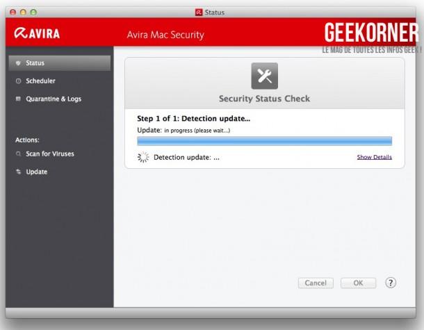 Avira Antivirus Mac Gratuit - Geekorner - 03