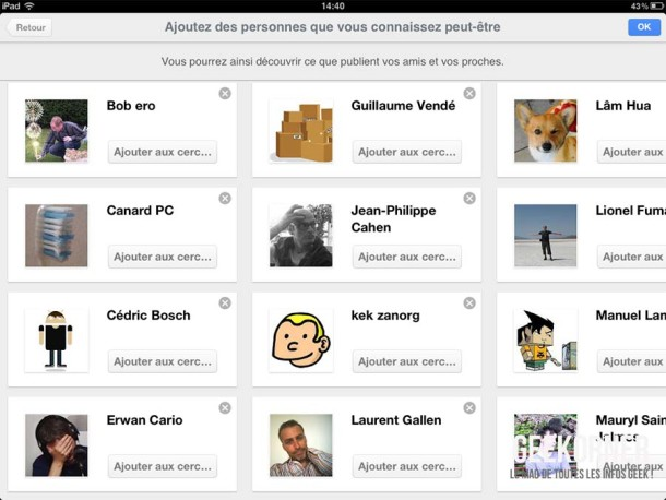 Google Plus iPad - Geekorner - 04