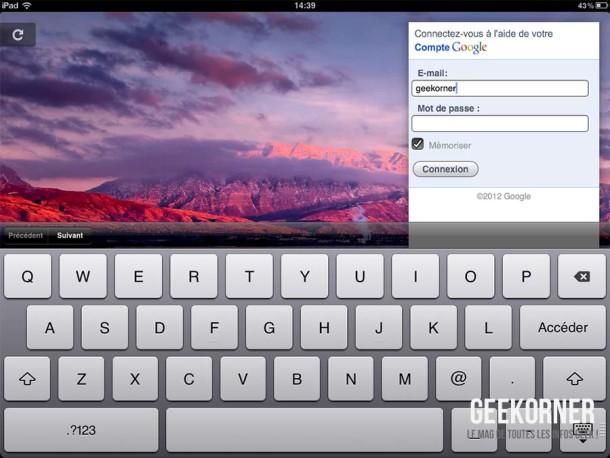 Google Plus iPad - Geekorner - 11