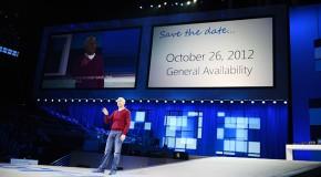 Windows 8 : Lancement le 26 octobre pour 39,99 $
