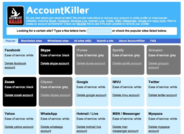 AccountKiller - Geekorner - 1