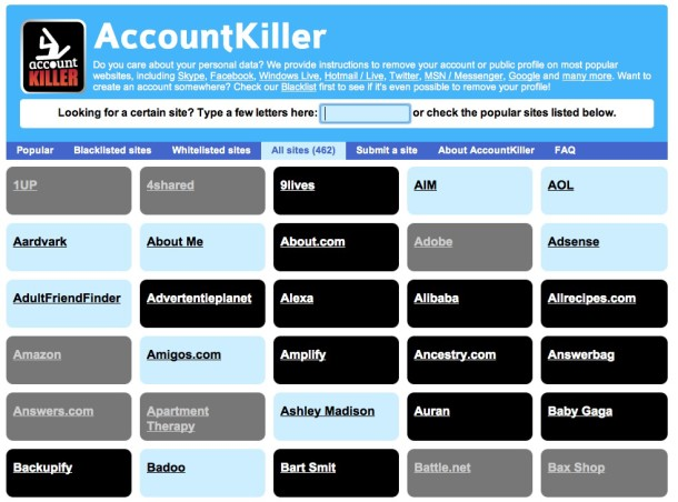 AccountKiller - Geekorner - 2