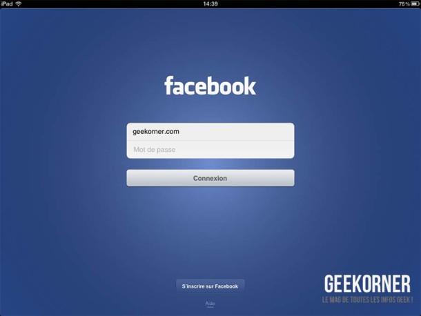 Facebook iOS Aout 2012 - Geekorner 01