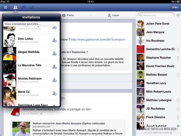 Facebook iOS Aout 2012 - Geekorner 13