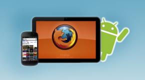 Firefox débarque sur les Tablettes Android