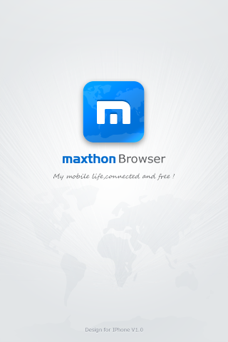 Maxthon iPhone Test - Geekorner - 001