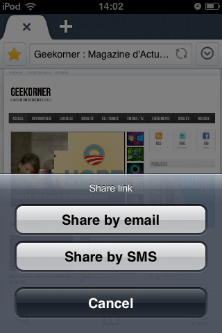 Maxthon iPhone Test - Geekorner - 004