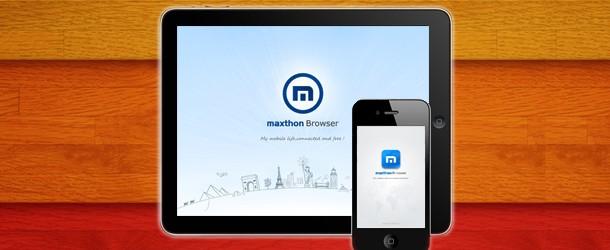 Maxthon pour iPhone : Publicité Mensongère ? [Test]