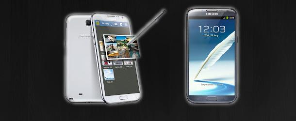 Samsung dévoile le Galaxy Note 2 en Détails