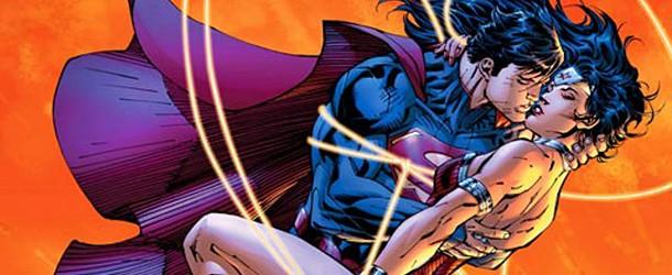 Superman en couple avec Wonder Woman