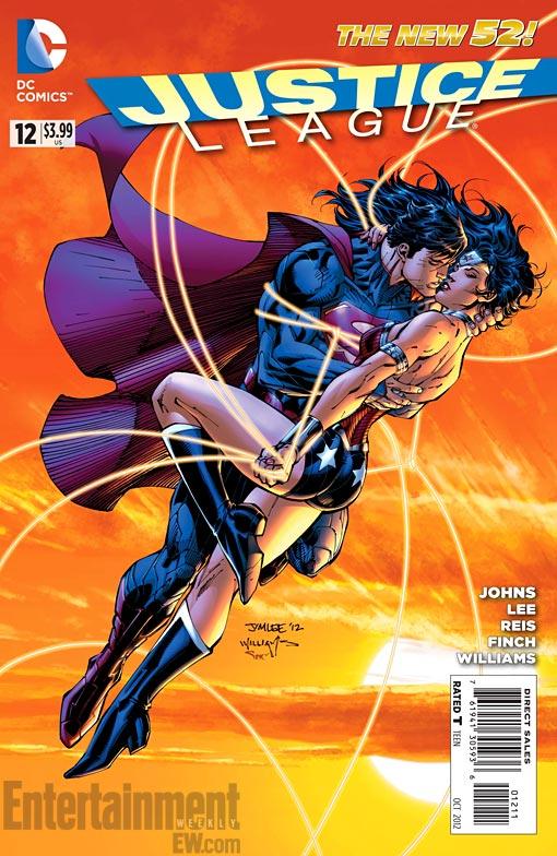 Superman Wonder Woman Justice League 12