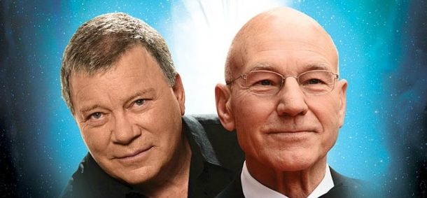 William Shatner et Patrick Stewart