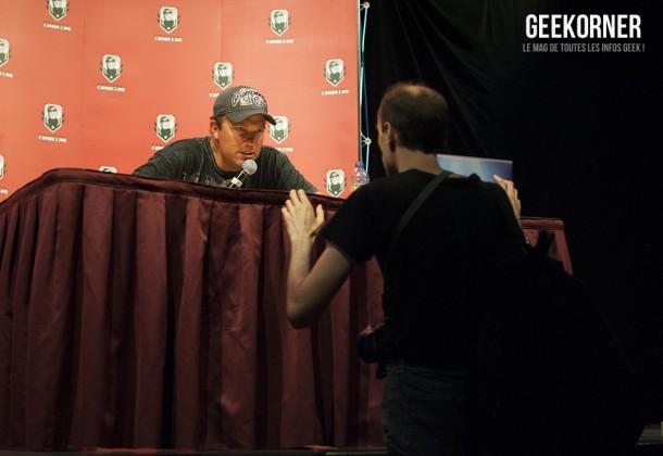 Adam Baldwin Comiccon Montréal 2012 - Geekorner - 014