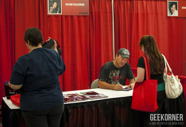 Adam Baldwin Comiccon Montréal 2012 - Geekorner - 016