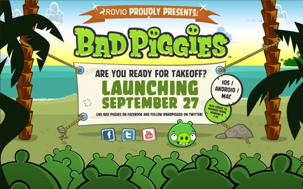 Bad Piggies Angry Birds - Geekorner- Visuel