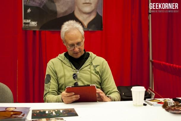 Brent Spiner Comiccon Montréal 2012 - Geekorner - 003