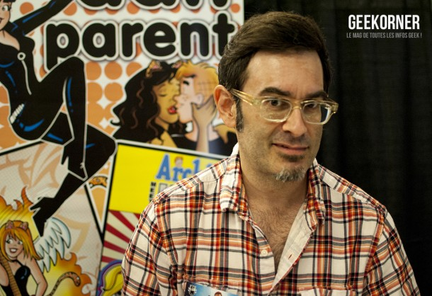 Dan Parent - Comiccon Montréal 2012 - Geekorner - 004