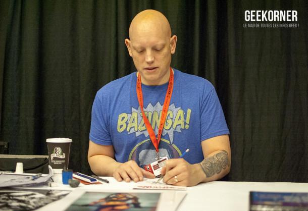 David Finch - Comiccon Montréal 2012 - Geekorner - 002