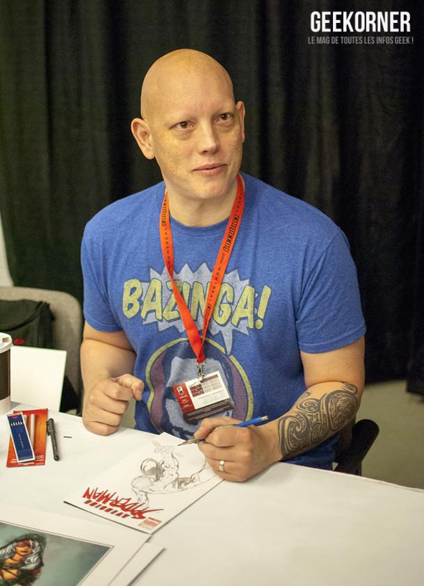 David Finch - Comiccon Montréal 2012 - Geekorner - 003