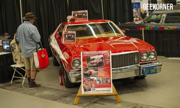 Ford Gran Torino 73 - Starsky et Hutch - Comiccon Montréal 2012 - Geekorner - 015