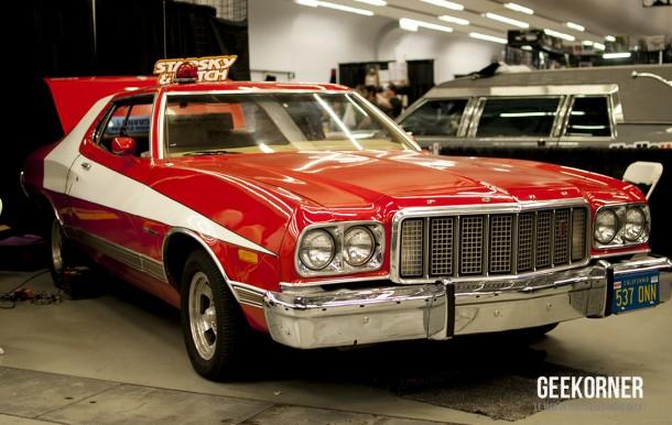 Ford Gran Torino 73 - Starsky et Hutch - Comiccon Montréal 2012 - Geekorner - 016