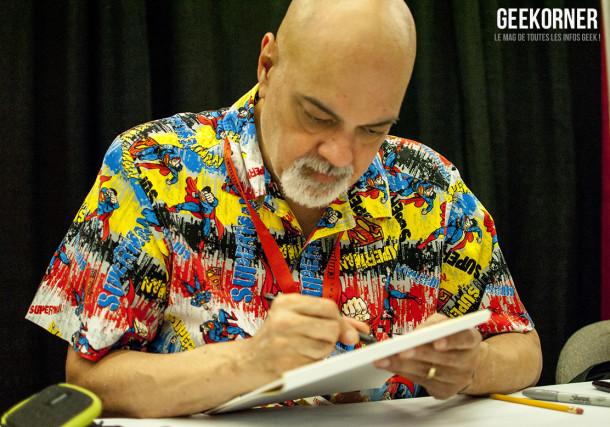 George Pérez - DC Comics - Comiccon Montréal 2012 - Geekorner - 002