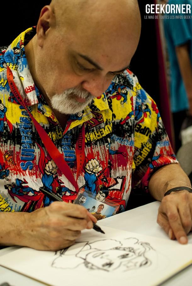 George Pérez - DC Comics - Comiccon Montréal 2012 - Geekorner - 003